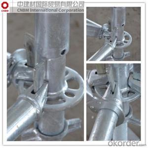 Q235 Ringlock Scaffolding Standard Scaffolding System