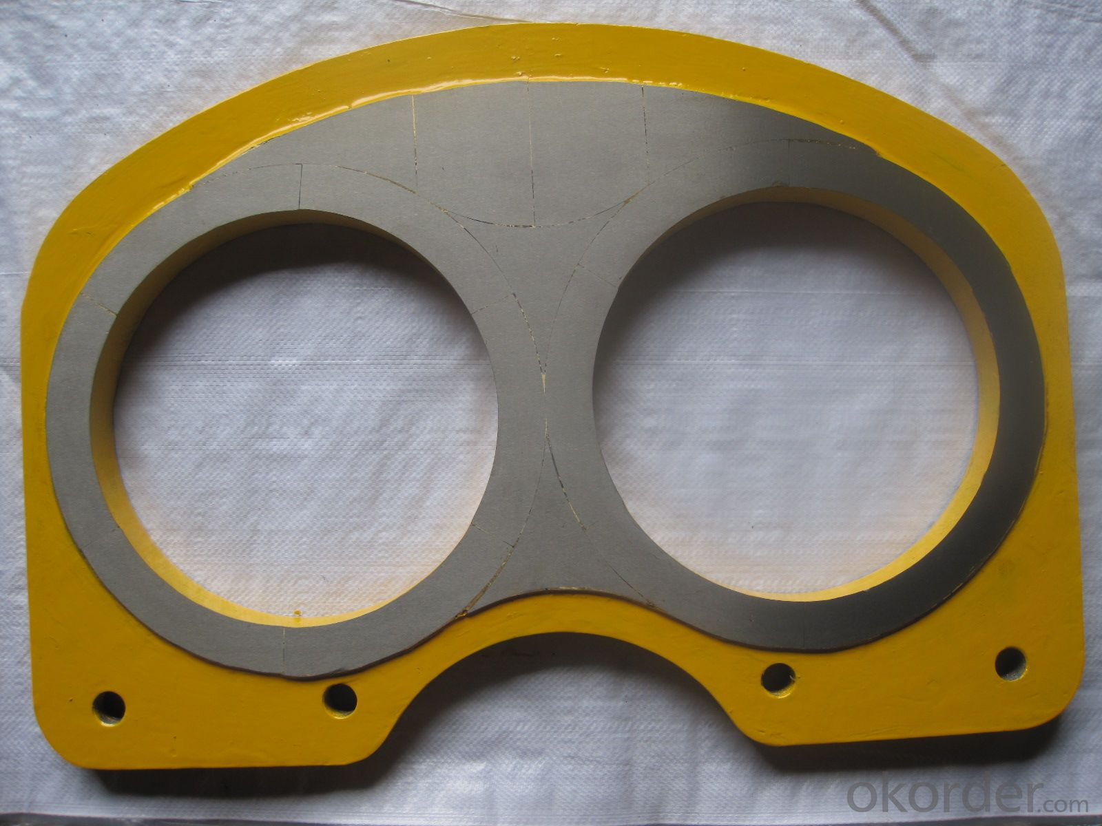 DN205 Spectacle Plate for IHI Concrete Pump
