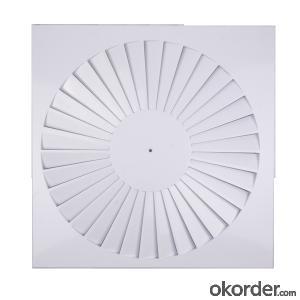 Aluminium Round air Diffuser Ceiling Use