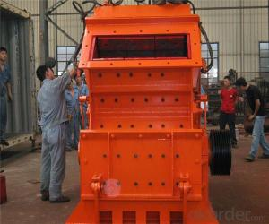 Softstone Impact Crusher with Cubic Shape