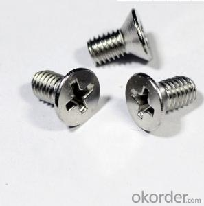 DIN7985 DIN965 Machine Screws Cross Recessed ,Pozi Recessed in M3,M4.M5