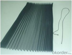 Fiberglass Insect Screen Mesh Polyester Screen Mesh Pleated Mesh