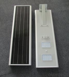 20W solar garden light Solar energy integrated street lamp solar street lamp solar LED street lamp