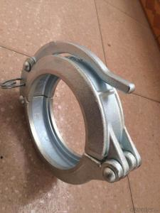 Concrete Pump Base Clamp DN125 Forge