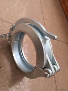 Concrete Pump Clamp DN80 3-1/4