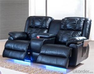 Recliner Sofa with Imported Genuine Leather
