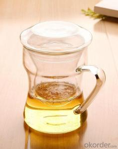 Promotional Clear Tea Glass Pot