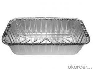 Aluminium Foil Container for Food Packaging Made in China