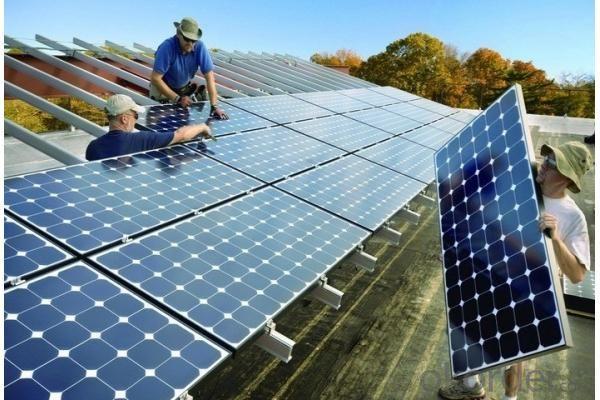 Off-Grid Solar Power System 2KW High Efficiency
