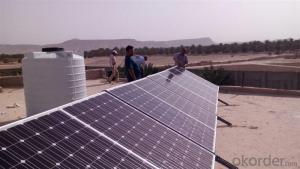Off-Grid Solar Power System 8KW High Efficiency