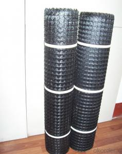 Fiberglass Geogrid 120KN for Road Construction