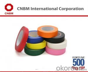 Hot Sale Rubber Heat Resistant Colorful Masking Tape