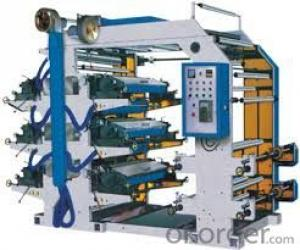Paper Bag Making Machine With Flexo Printing Machine