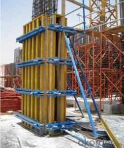 Timber Beam Wall Formwork Used for The Concrete Pouring of Wall