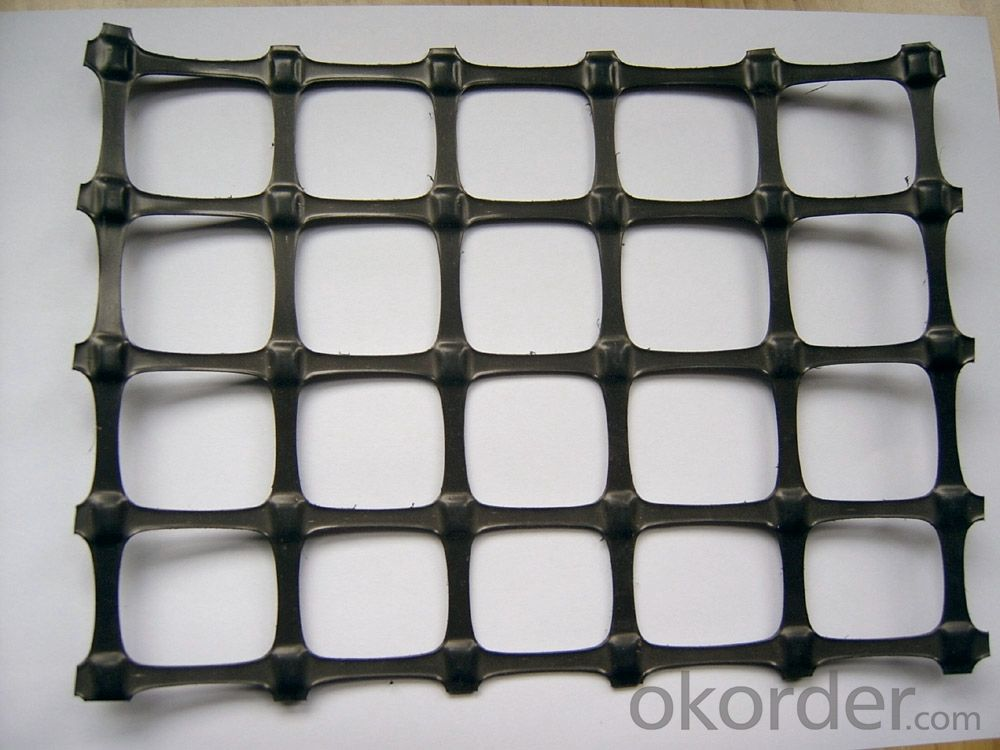 Fiberglass Geogrid with 100KN/M for Road Bed