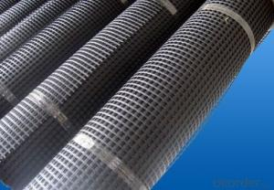 Fiberglass Geogrid with CE Certification and Bitumen Coated