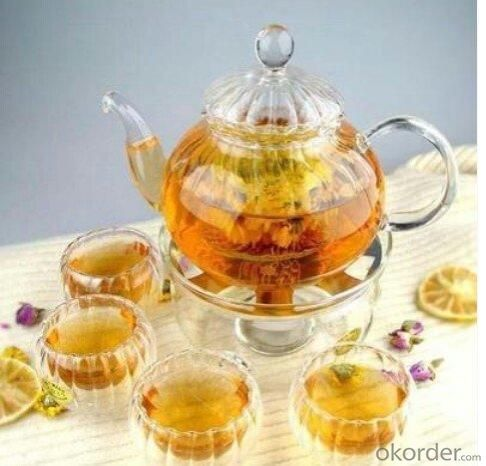 Glass Teapot/Coffee Pot/Tea Kettle with Infuser