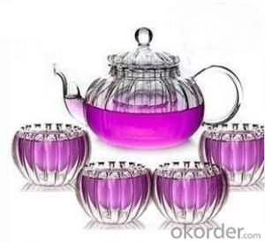 Europe High Resistant Glass Tea and Fruit Pot High Quality