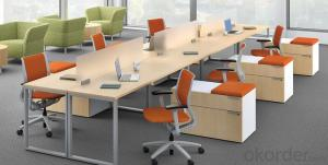 Modular Office Furniture with Various Colors