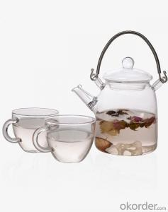 Handmade Mouth Blown Drinking Glass Water Pot