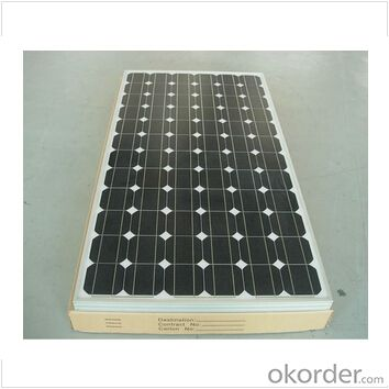 Monocrystalline 195W  PV Solar Panel Solar Module