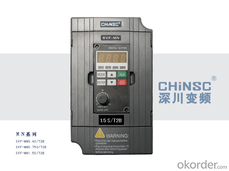 Chinsc MINI Series 220v  0.4kw  Frequency Inverter