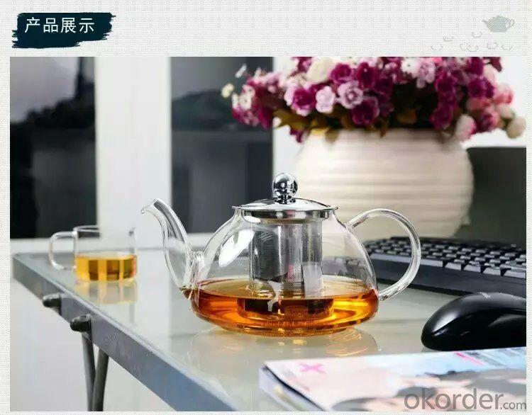 Europe High Resistant Glass Tea Pot