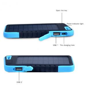 Solar Power Bank 30000mah for Mobile Phone