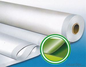 PVC Waterproofing Membrane with Fiberglass Reinforcement
