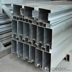 Windows And Doors Construction Usage Extrusion Aluminium Profile