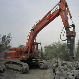 Hb 1550 Hydraulic Rock Breaker 258kg for Mining