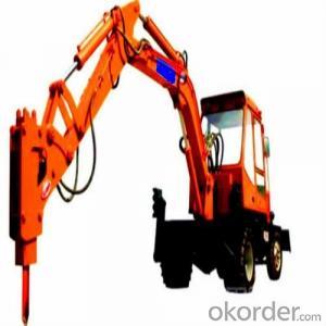 Coupler Hydraulic Breaker for Splitting Rock