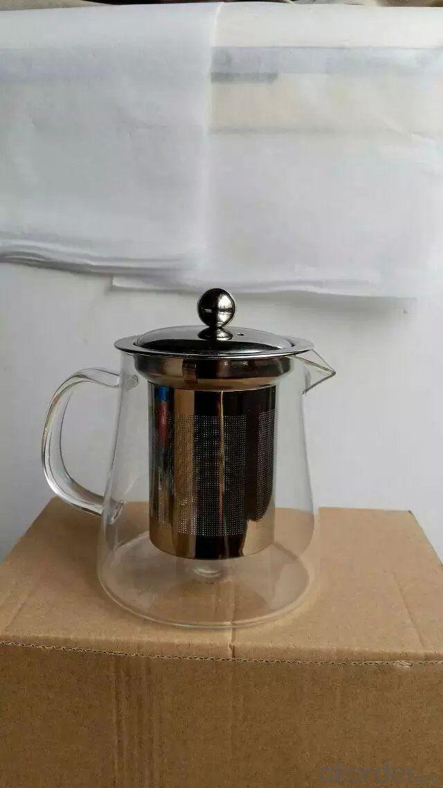 Fashion and Multiple Russia Glass Tea Pot Coffee Pot