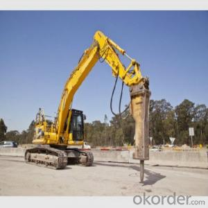 Hydraulic Rock Breaker 4-26 Ton High Efficiency
