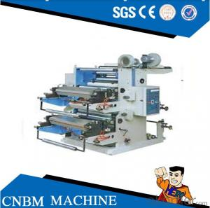 6 Color Plastic film High Speed Flexographic Printing Machine with double unwind and double rewind