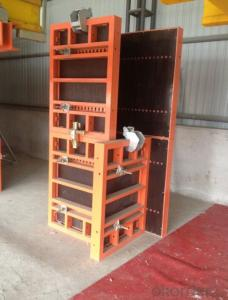 Steel Frame Formworks with Light Weight and Easy Carry for House Building