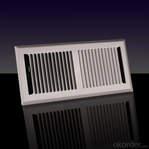 Steel Frame Air Grilles Rectangle for Ceiling use Air Conditioning
