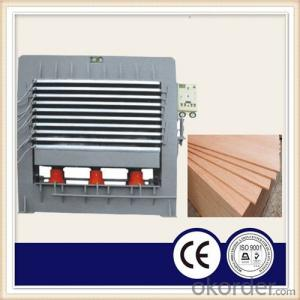 Two Sides Laminating Furniture Board Hot Press Machine