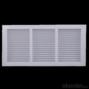 White Adjustable Plastic Air Diffuser,HVAC Air Diffuser