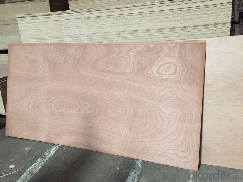 Núcleo de álamo de madera contrachapada COMBI núcleo de madera contrachapada