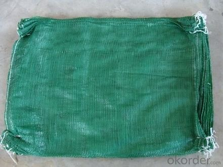 52x88 PP & PE Leno Raschel mesh bags for packing potato