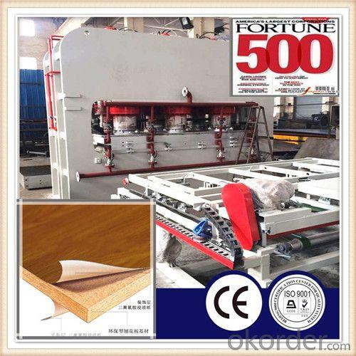 Furniture Particle Board Making Press Machine