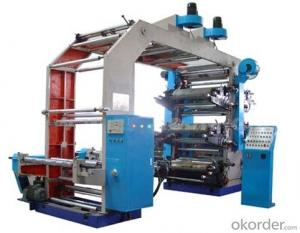 High Speed And High Quality Flexo Printing Machine 6 Color Flexo Printing Machine For Paper Bags