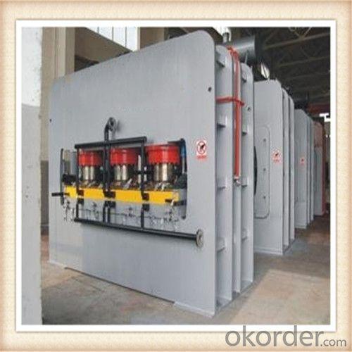 Wood Panel Melamine Press Machine Made in China