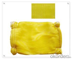 Polyeser backpack style drawstring mesh bag