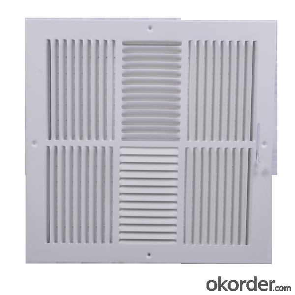 Air Vent Grilles Square Shape for Ceiling use Air Conditioning
