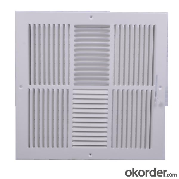 Ventilations Grilles Square Shape HVAC systerm Ceiling Vent