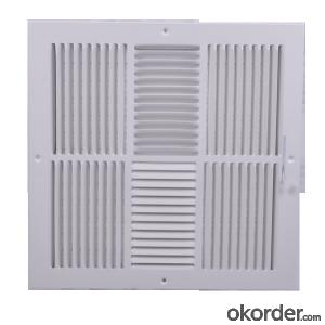 Air Vent Grilles Square Shape HVAC systerm Ceiling Vent