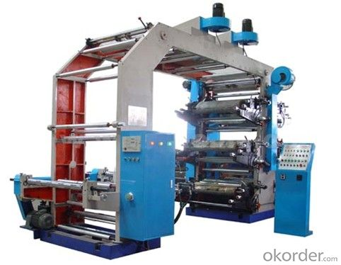 4 Colors High Speed Flexo Frinting Machine