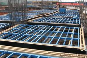 Steel Frame Formworks for Beam and Slab Construction